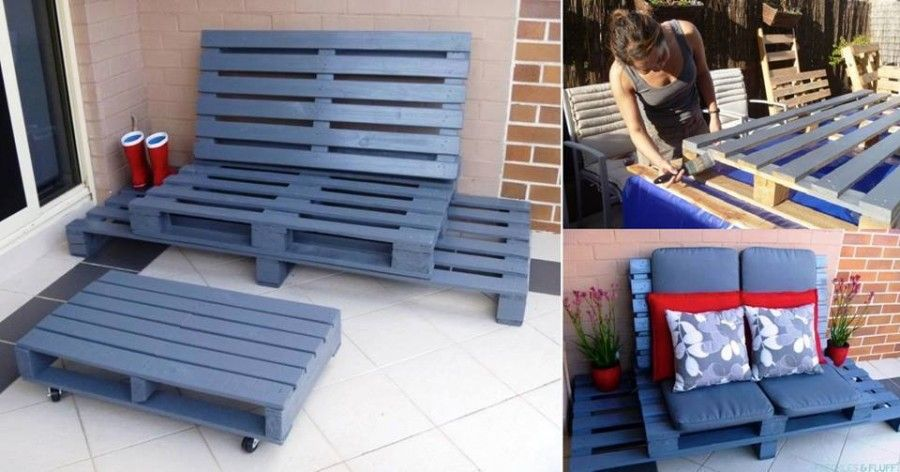 Outdoor Lounge in DIY Projects