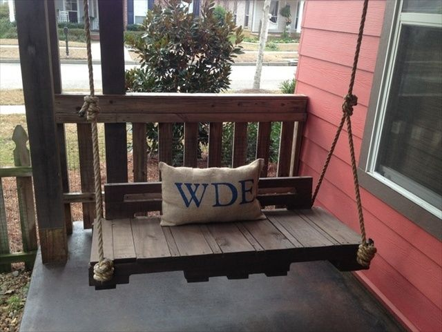 Pallet Garden Swing Projects