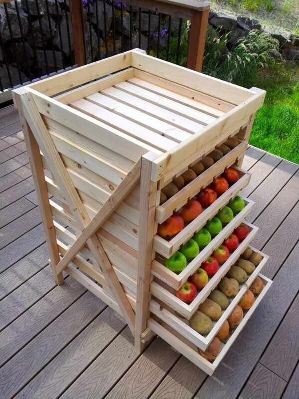Pallet Food Storage For Your Kitchen