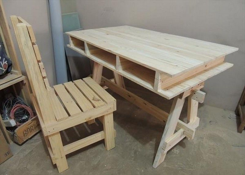 Wooden Pallet Table Ideas