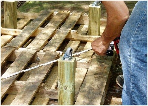 A Step by Step Guide to Creating Wooden Pallet Beds 4