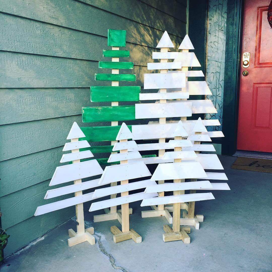 Wooden Pallet Tree Ideas