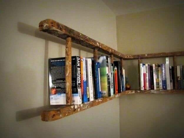 Finding Wasted Space For Books Pallets Shelf
