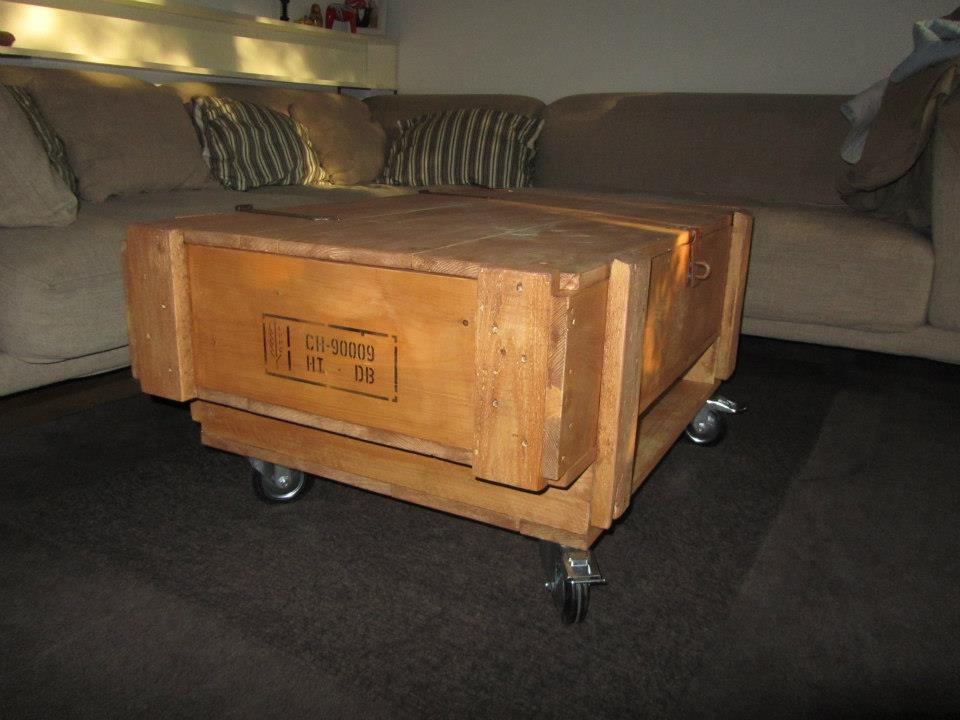 Coffee Table with Multi-Functional Capacity