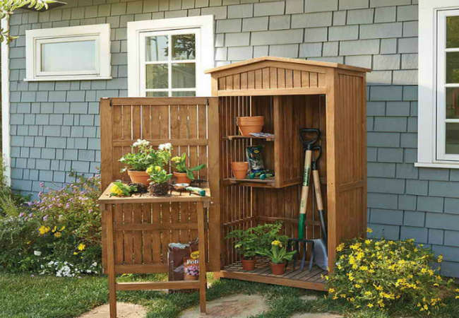 Tool Organizer For Your Garden
