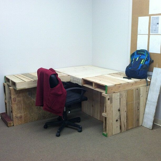 Pallet Office furniture