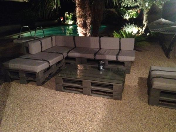 DIY Pallet Outdoor Couch Ideas