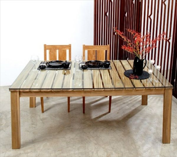 Pallet Dining table Ideas