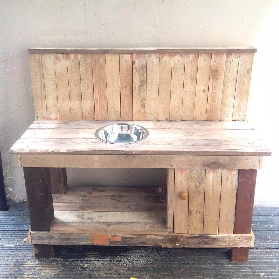 Pallet Kitchen Tables