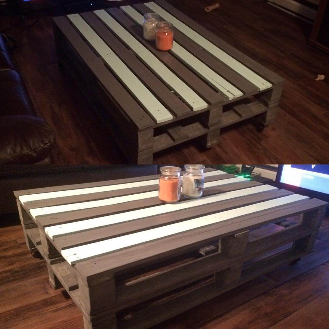 Pallet Decorative Table