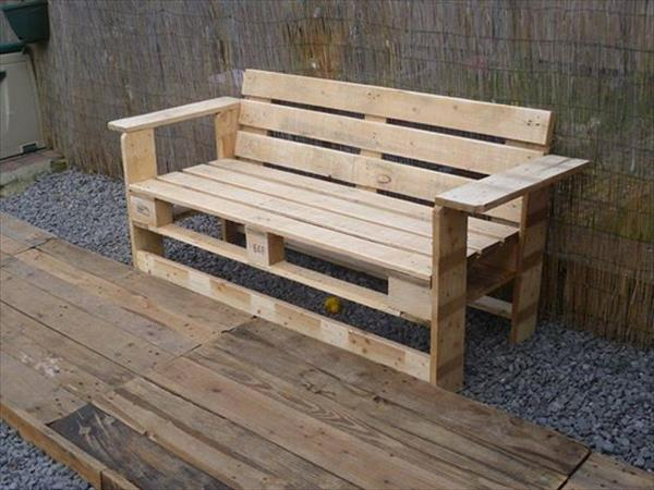 Rustic Pallet Bench Ideas