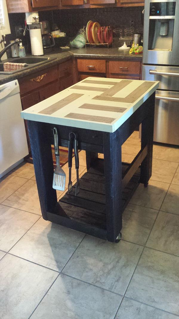 Sweet Pallet Kitchen Island Ideas