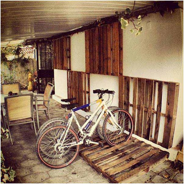 Build a bicycle rack or wall art