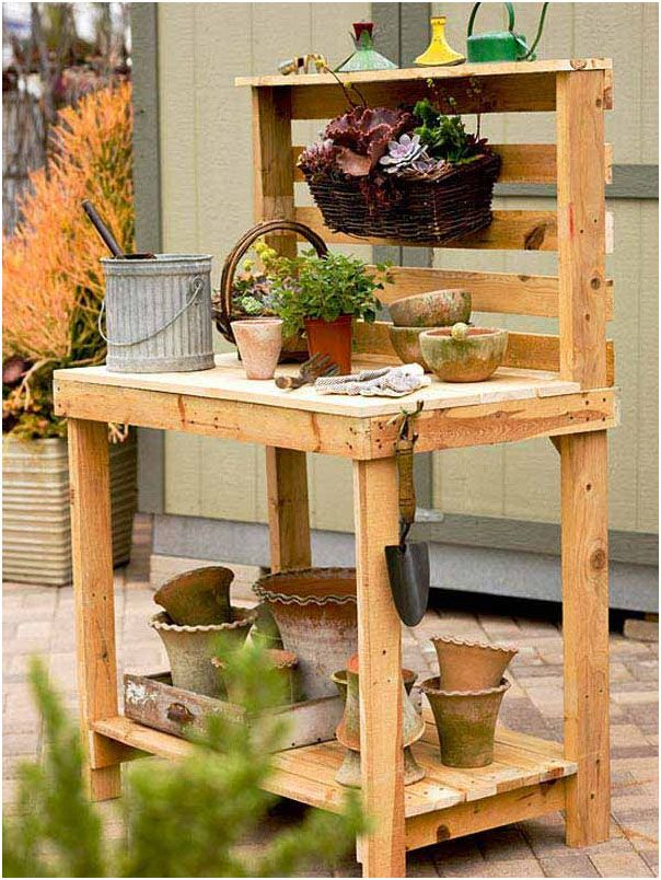 Build a gardening office for your help