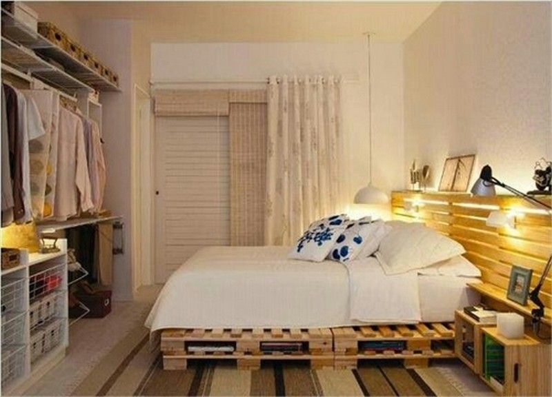 How to Create a Wooden Pallet Bed frame