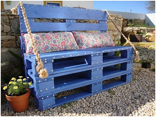 Innovative DIY Ideas for Making Pallet furniture