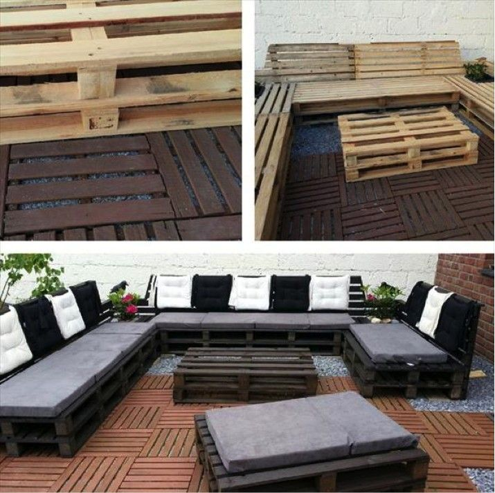 Latest idea about Process of making pallet patio furniture