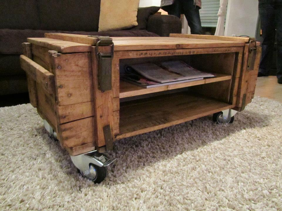 Multiple Use Pallet Table Ideas