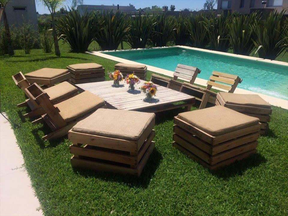 Pallet Garden Seating Furniture
