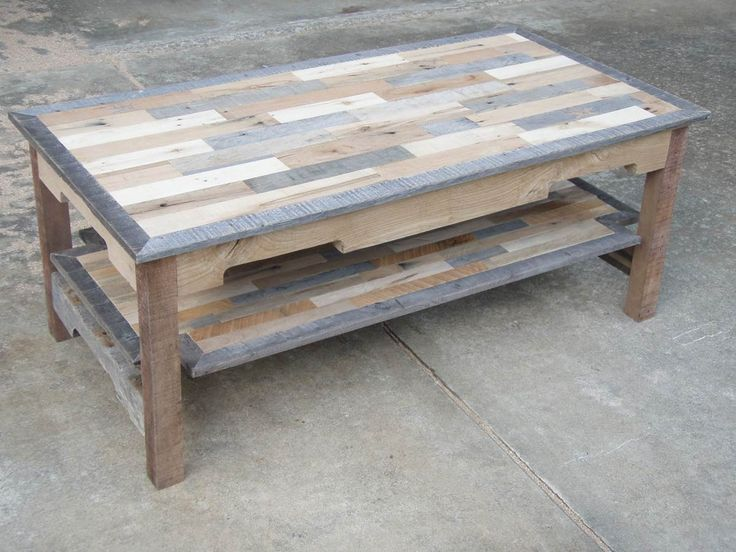 Pallet Homemade Moist Table