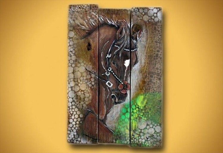 Pallet Painting wall art