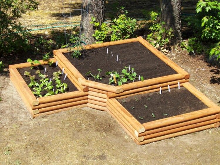 Pallet Raised Planting Beds