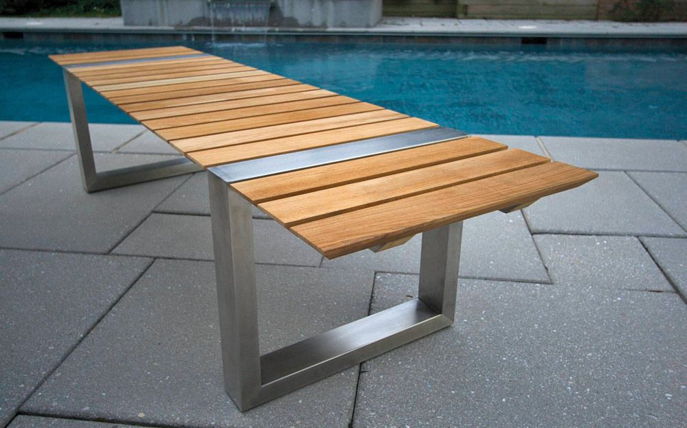 Patio Benches in Pallet Projects
