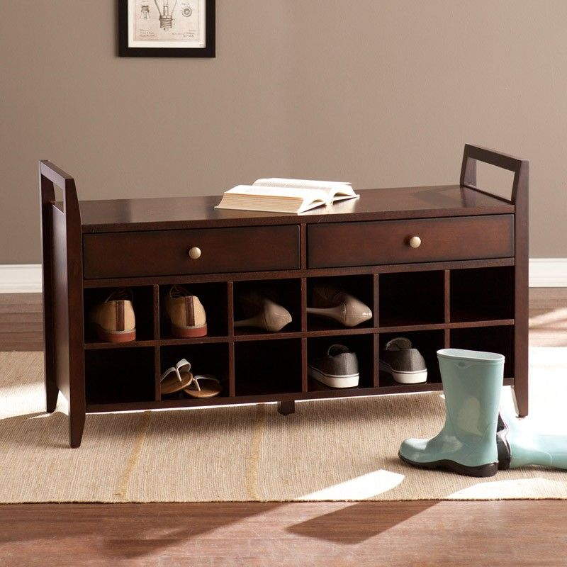 3. Creating a Spacious Shoe Storage Bench