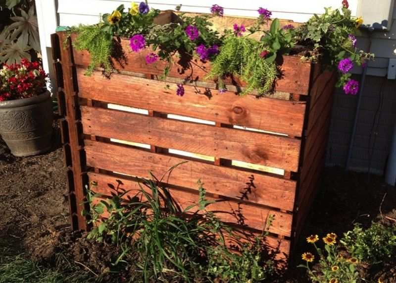 Wooden Pallets Compost