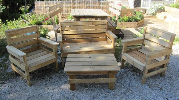 diy outdoor pallet furniture ideas to make your home perfect
