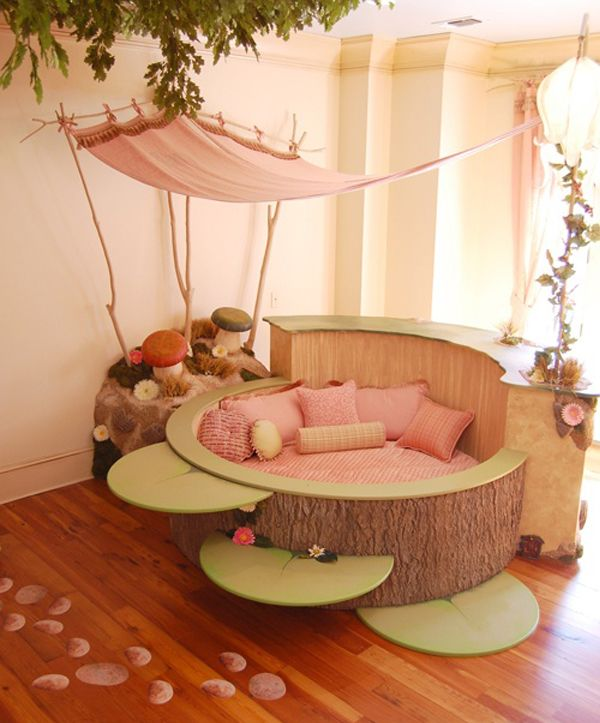 A Beautiful Toddler Bed