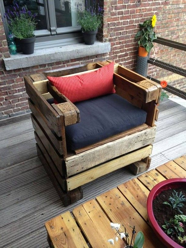 wooden pallet patio couch Ideas
