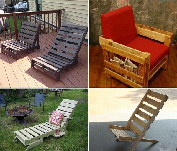 DIY Wooden pallet storage pallet furniture
