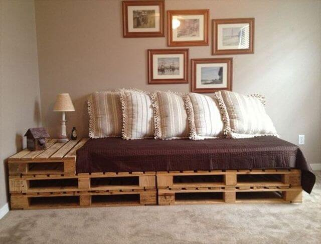 Pallet Comfortable Couch