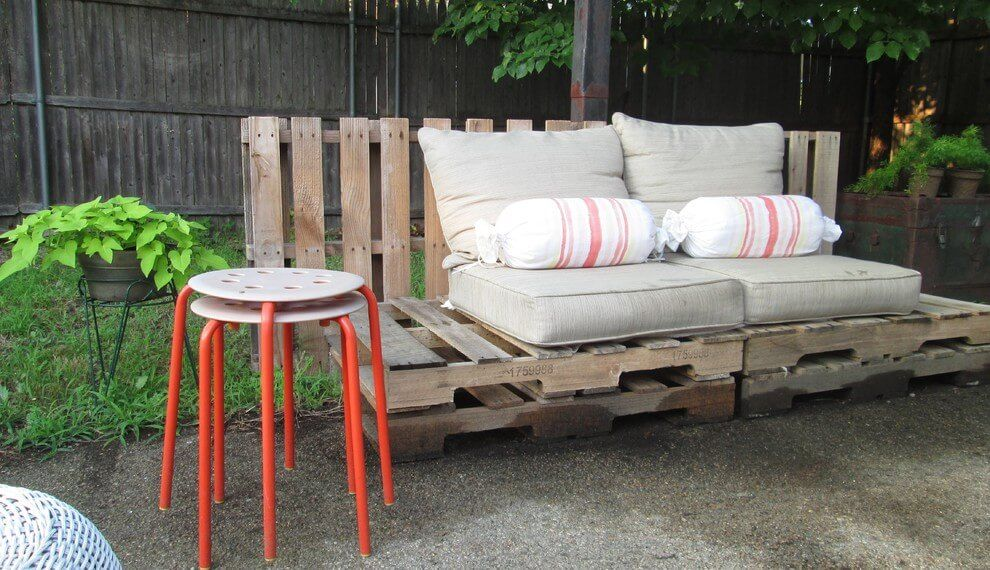 Pallet Contemporary Couch