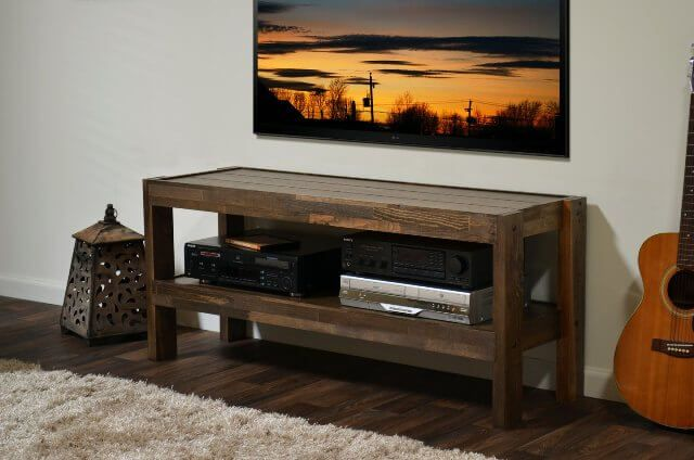 Pallet TV Entertainment Stand