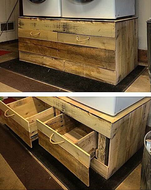 Pallet Furniture is organizing your stock