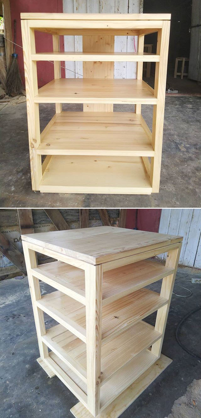 DIY Pallet Furniture Set Applicable in Home and Office