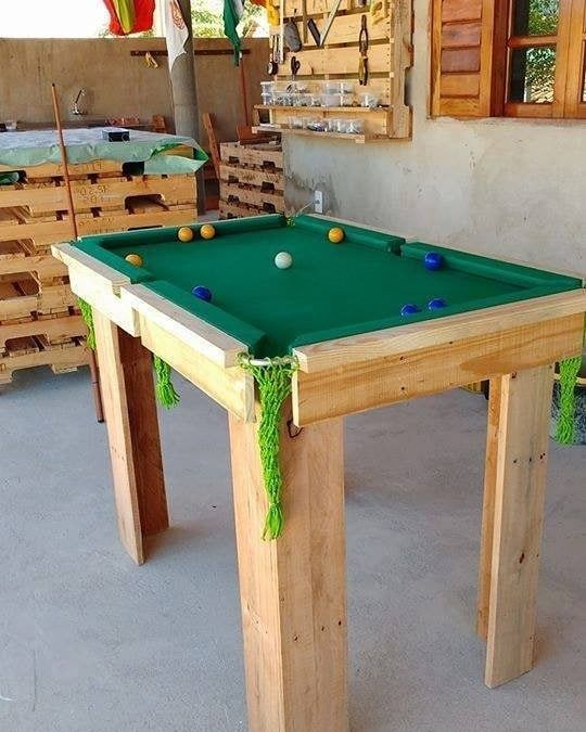 Pallet snooker table