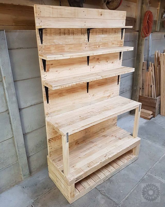 Pallet Multipurpose storage ideas
