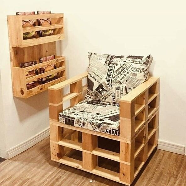 Pallet chair furniture