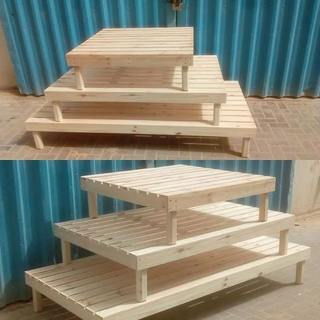 Pallet outdoor table