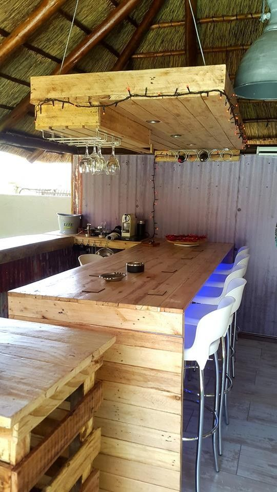 Pallet kitchen furniture project