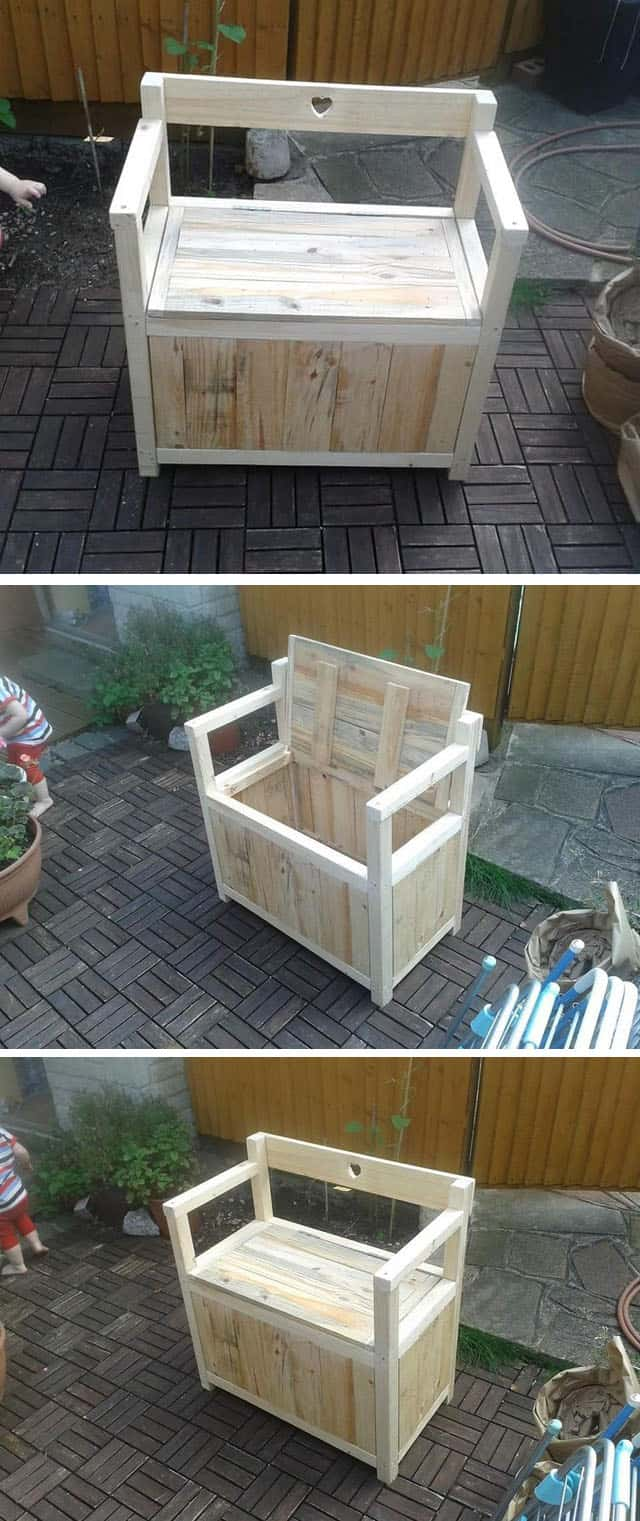 Pallet Storage chair