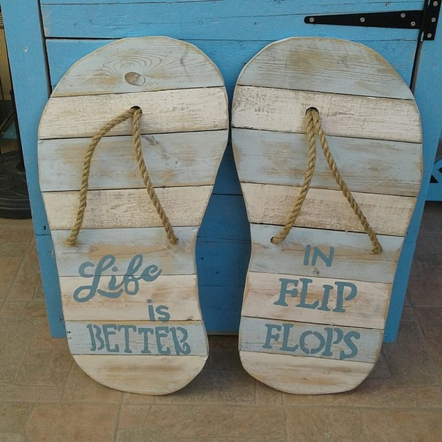 Pallet shoes craft