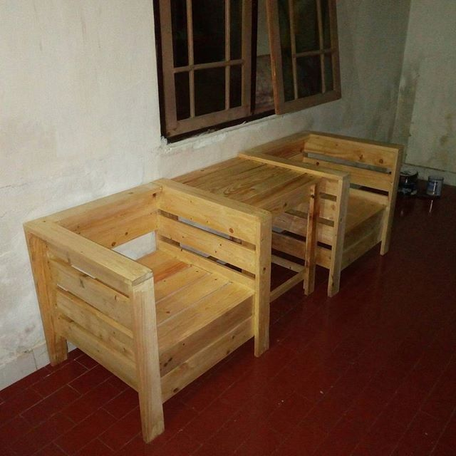 Pallet furniture chair ideas