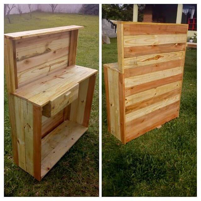 Pallet outdoor bar (1)