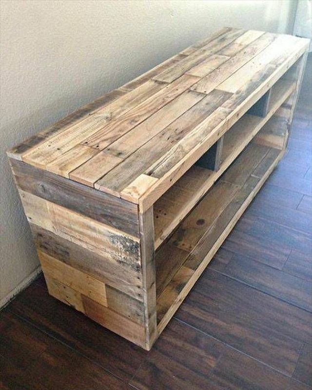 Pallet side table furniture ideas