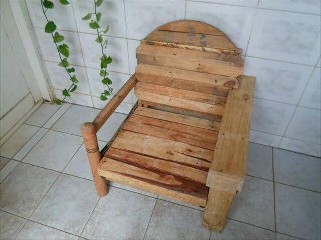 Pallet chair idea