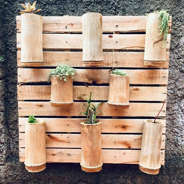 Pallet vertical planter ideas